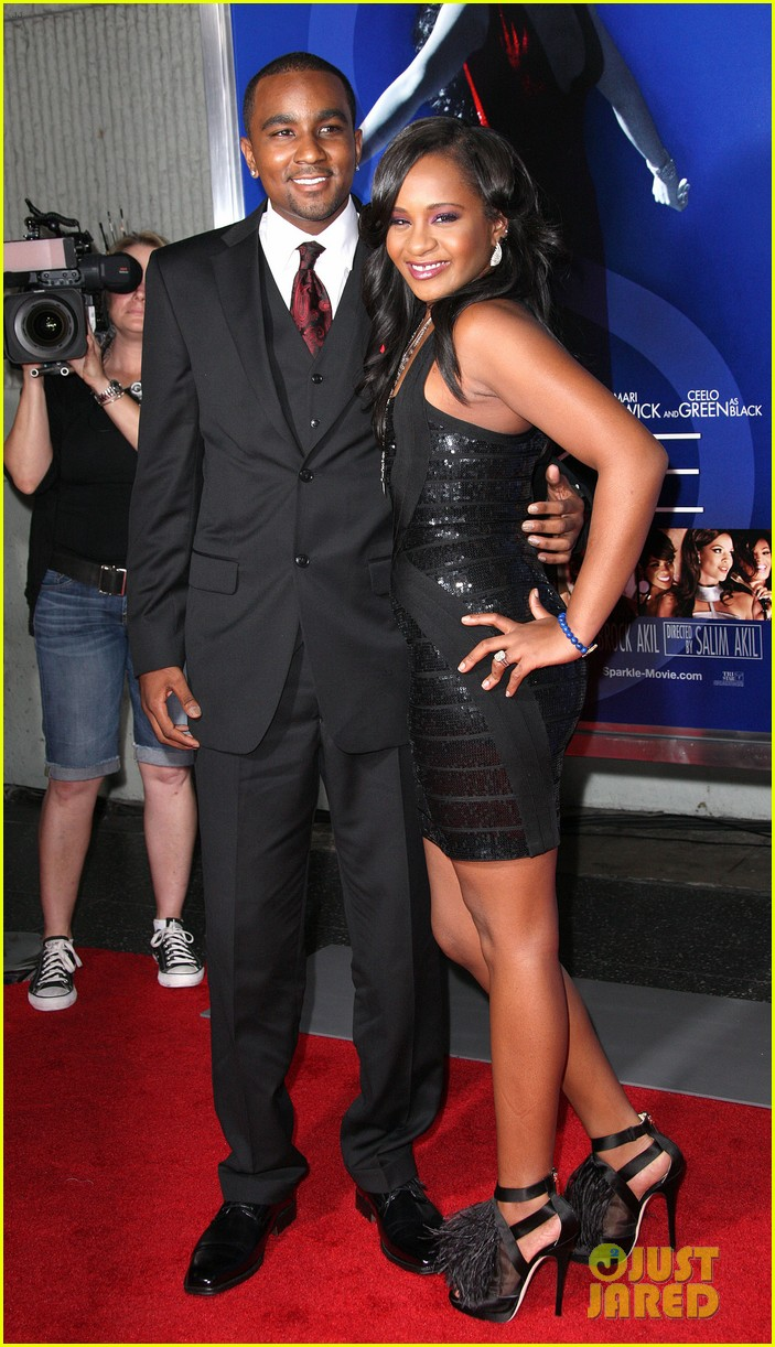 jordin sparks sparkle premiere with bobbi kristina brown 102703530