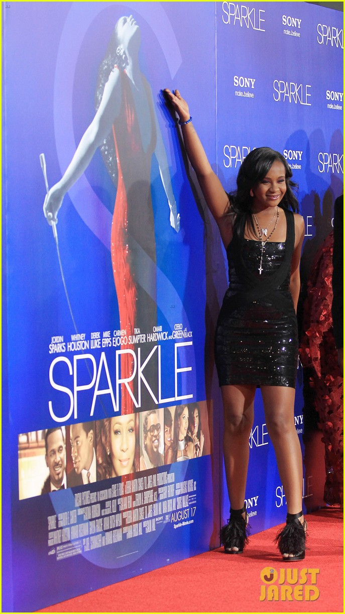 jordin sparks sparkle premiere with bobbi kristina brown 162703536