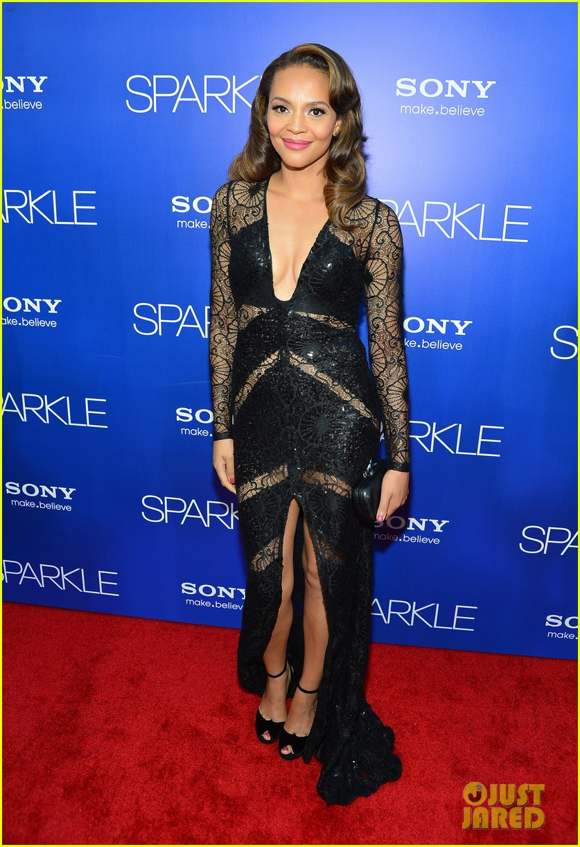 jordin sparks sparkle premiere with bobbi kristina brown 38