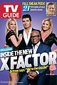 britney spears x factor judges cover tv guide magazine