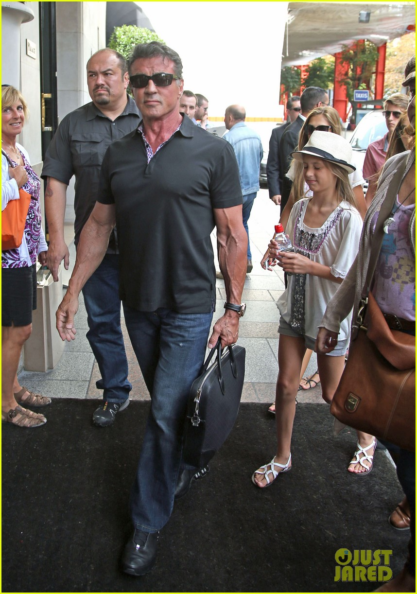 sylvester stallone family yacht vacation in cannes 052698904