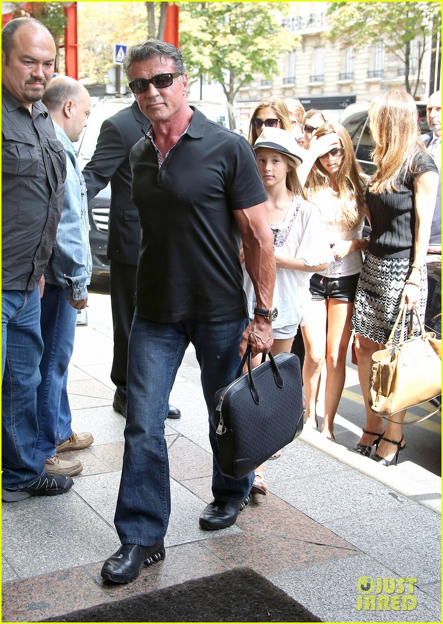sylvester stallone family yacht vacation in cannes 162698915