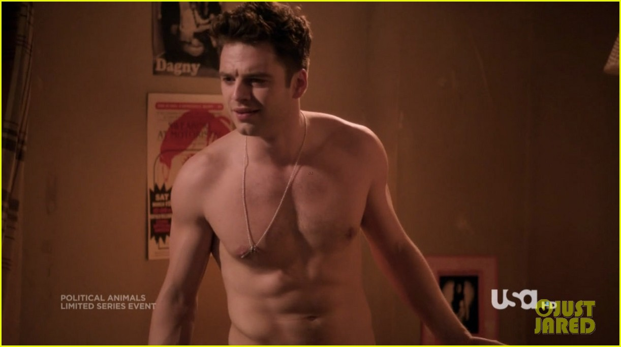 sebastian stan shirtless for political animals 01
