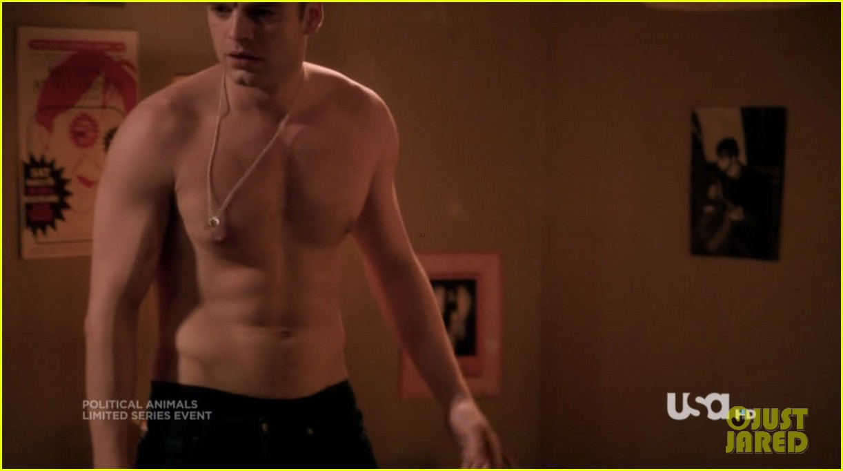 sebastian stan shirtless for political animals 21