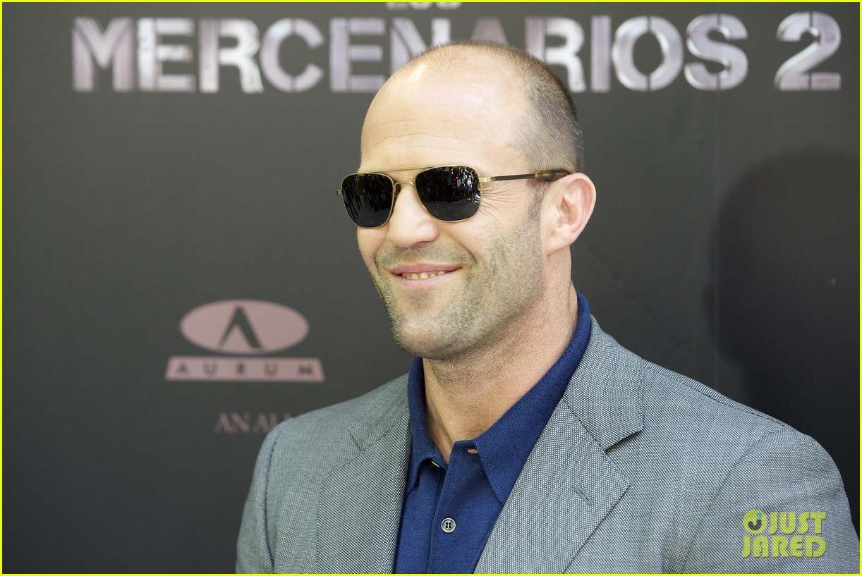 jason statham expendables 2 photo call spain 062698611
