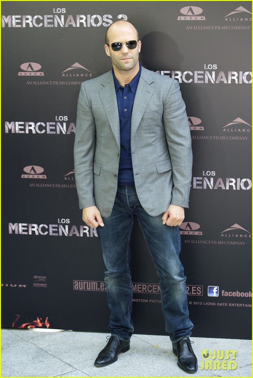 jason statham expendables 2 photo call spain 082698613