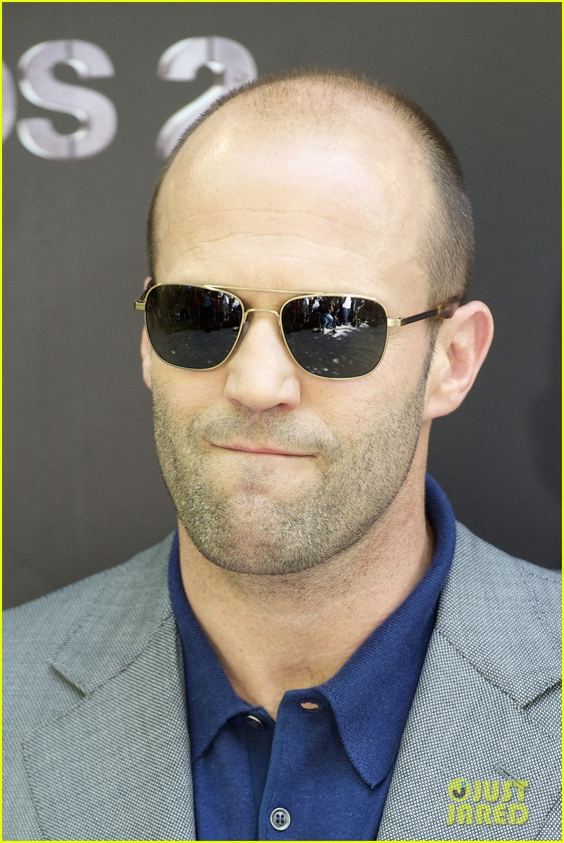 jason statham expendables 2 photo call spain 092698614