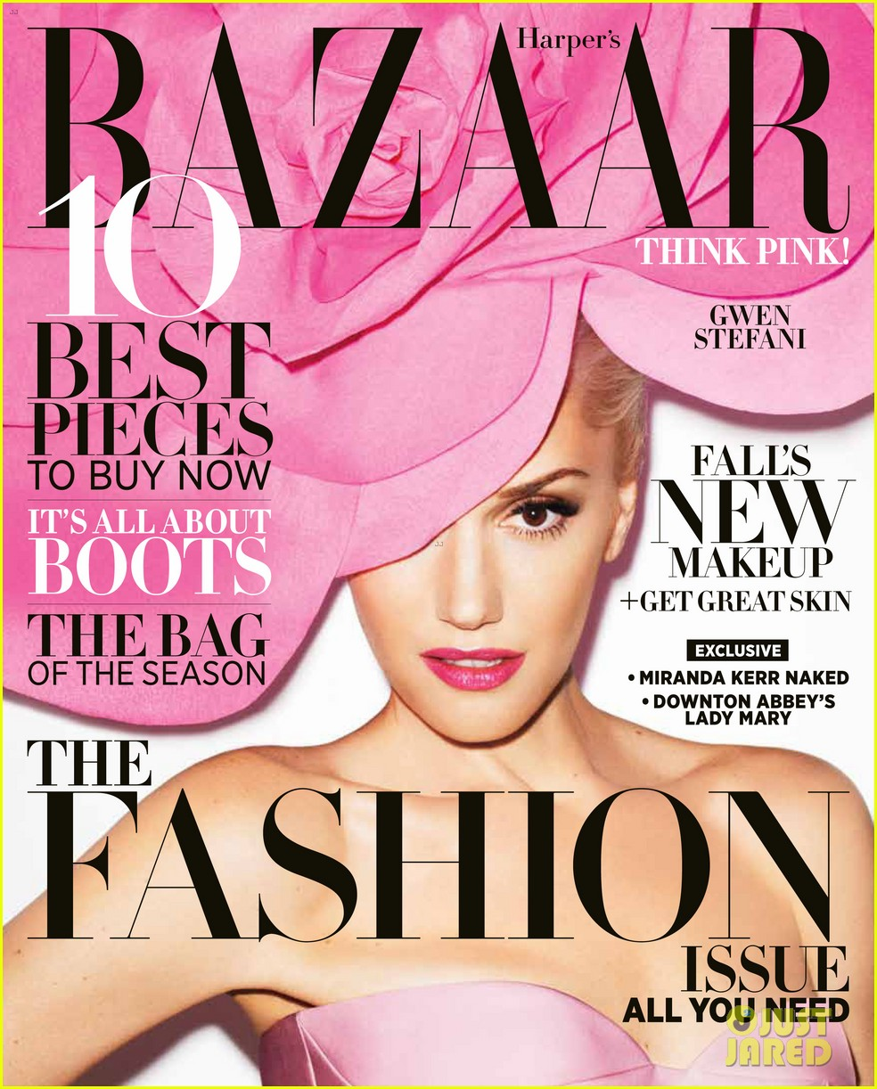 gwen stefani covers harpers bazaar september 2012 01