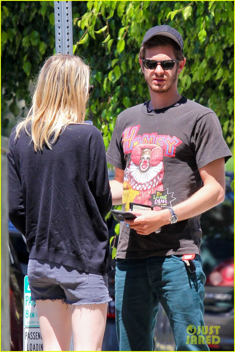 emma stone andrew garfield burgers and books 092709450