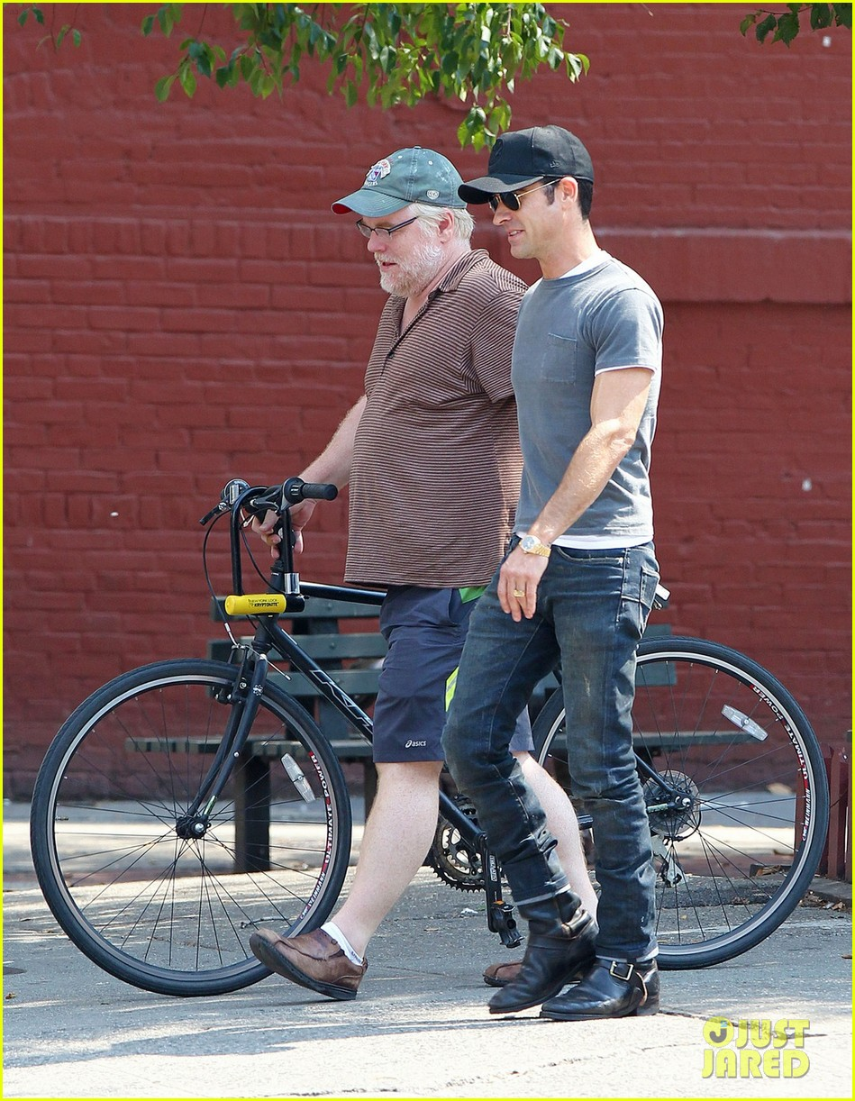 justin theroux lunch with philip seymour hoffman 012707314