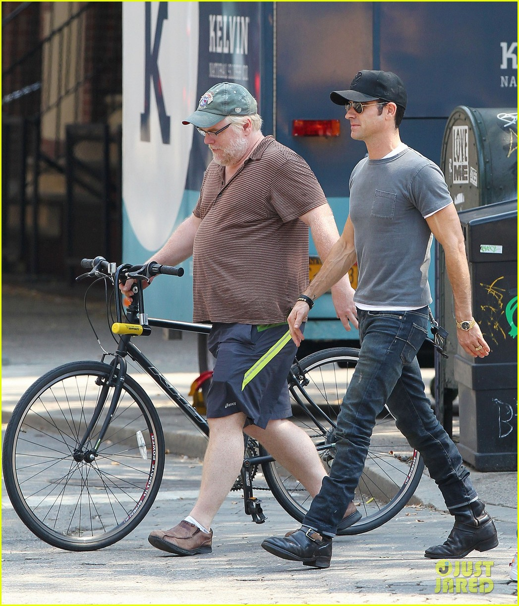 justin theroux lunch with philip seymour hoffman 022707315