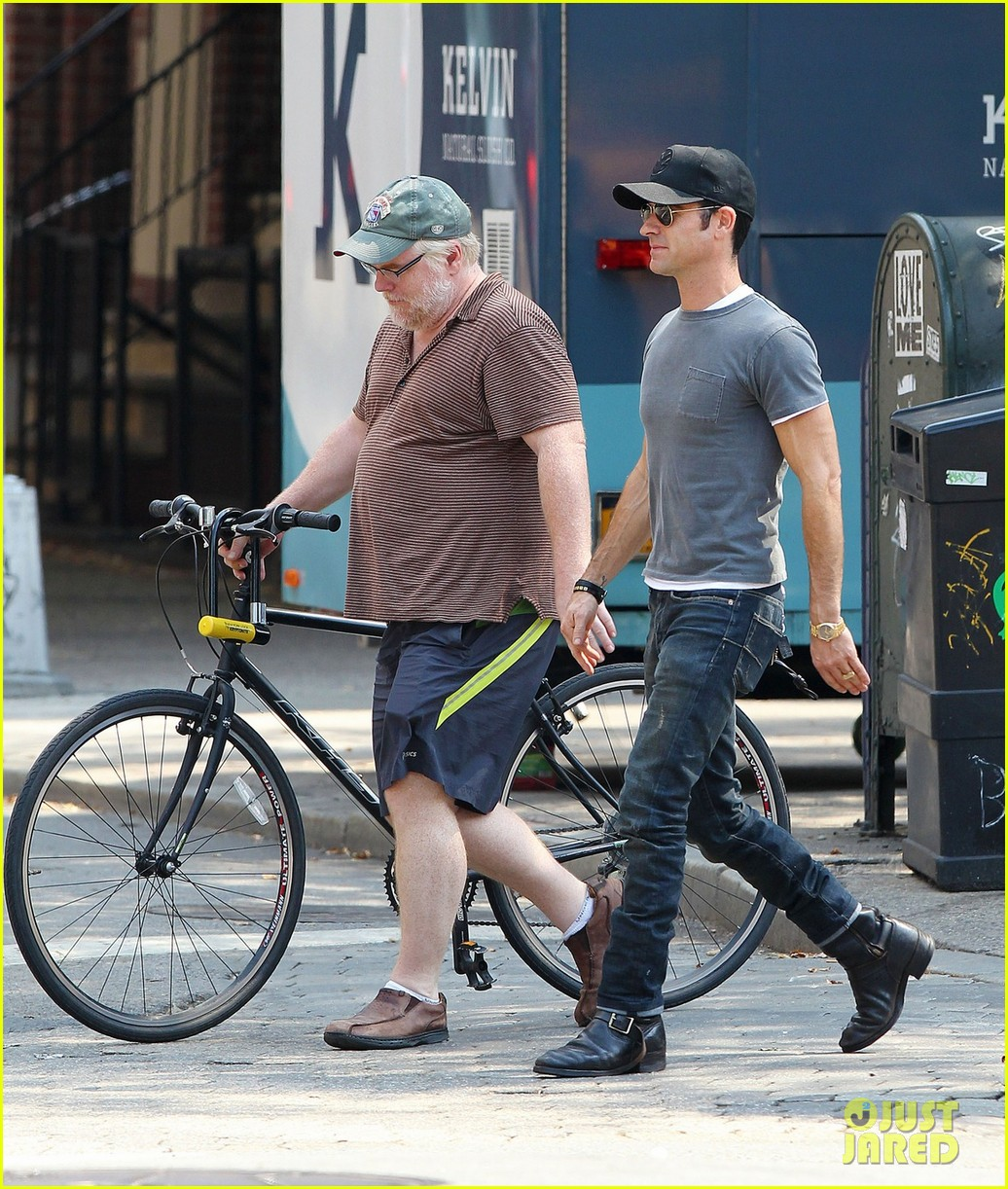 justin theroux lunch with philip seymour hoffman 032707316