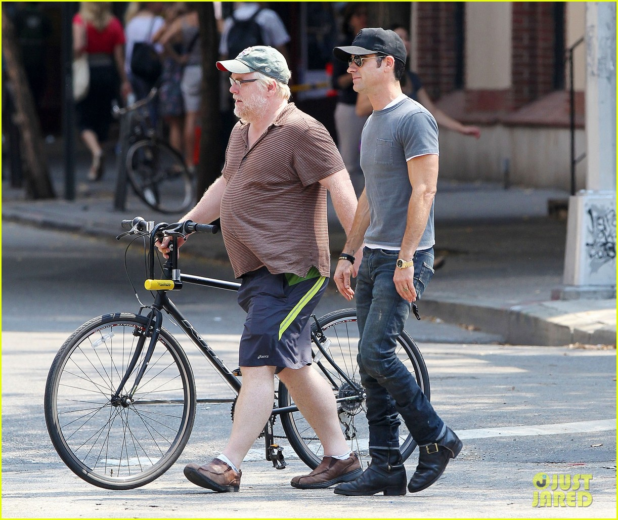 justin theroux lunch with philip seymour hoffman 052707318