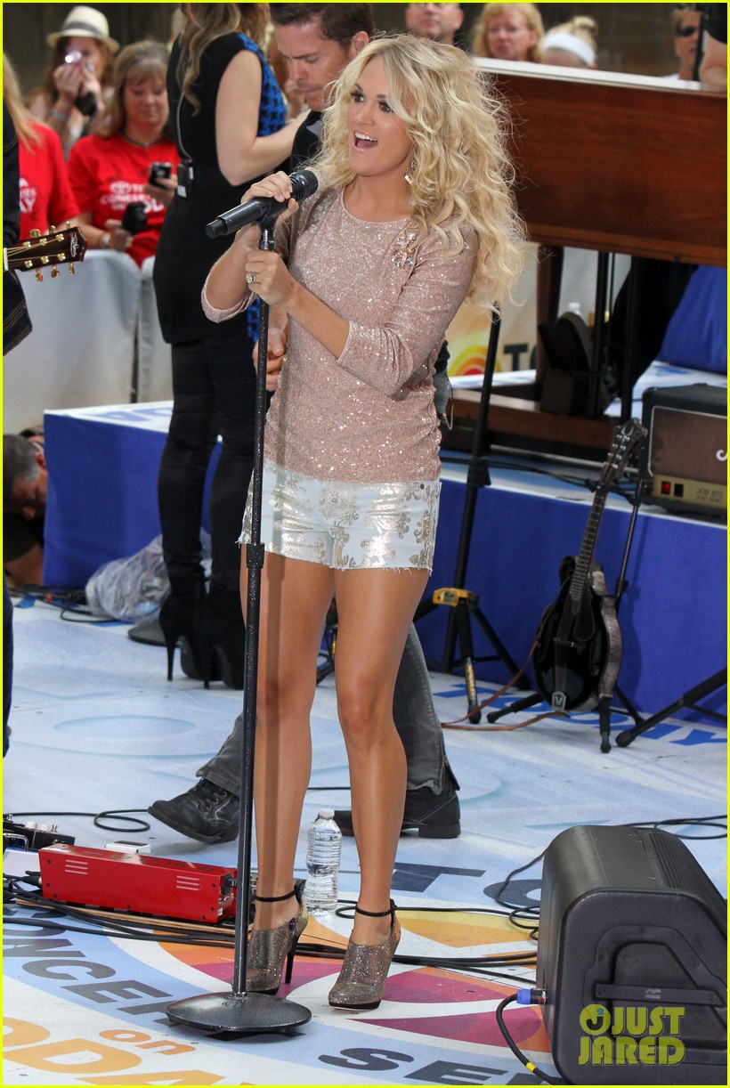 carrie underwood today show performance 012702478