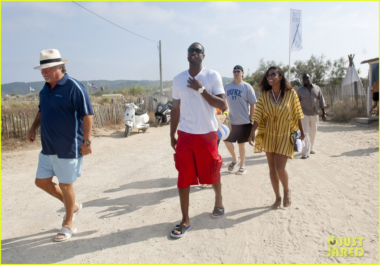 gabrielle union dwyane wade saint tropez vacation 032697974