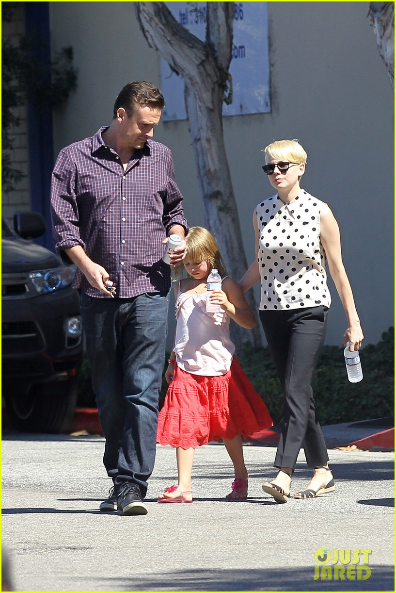michelle williams jason segel ice cream with matilda 012709593