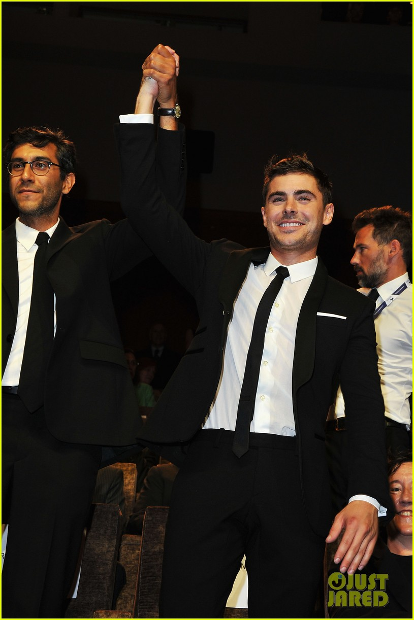 zac efron at any price venice premiere 022711907