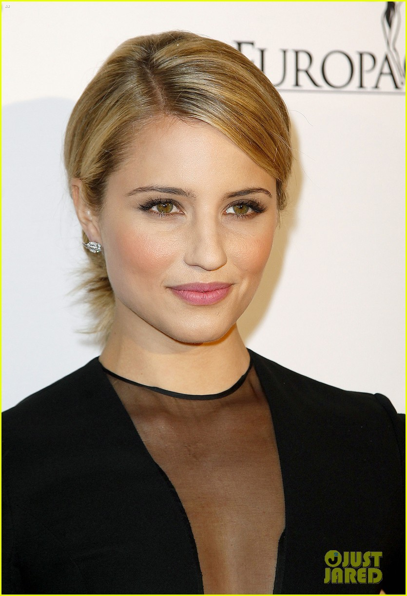dianna agron salma hayek la cite du cinema launch 02
