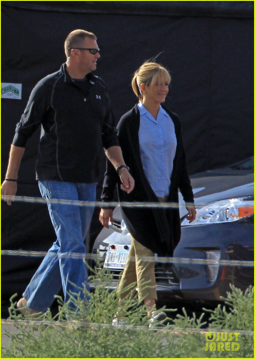 jennifer aniston were the millers set 032727799