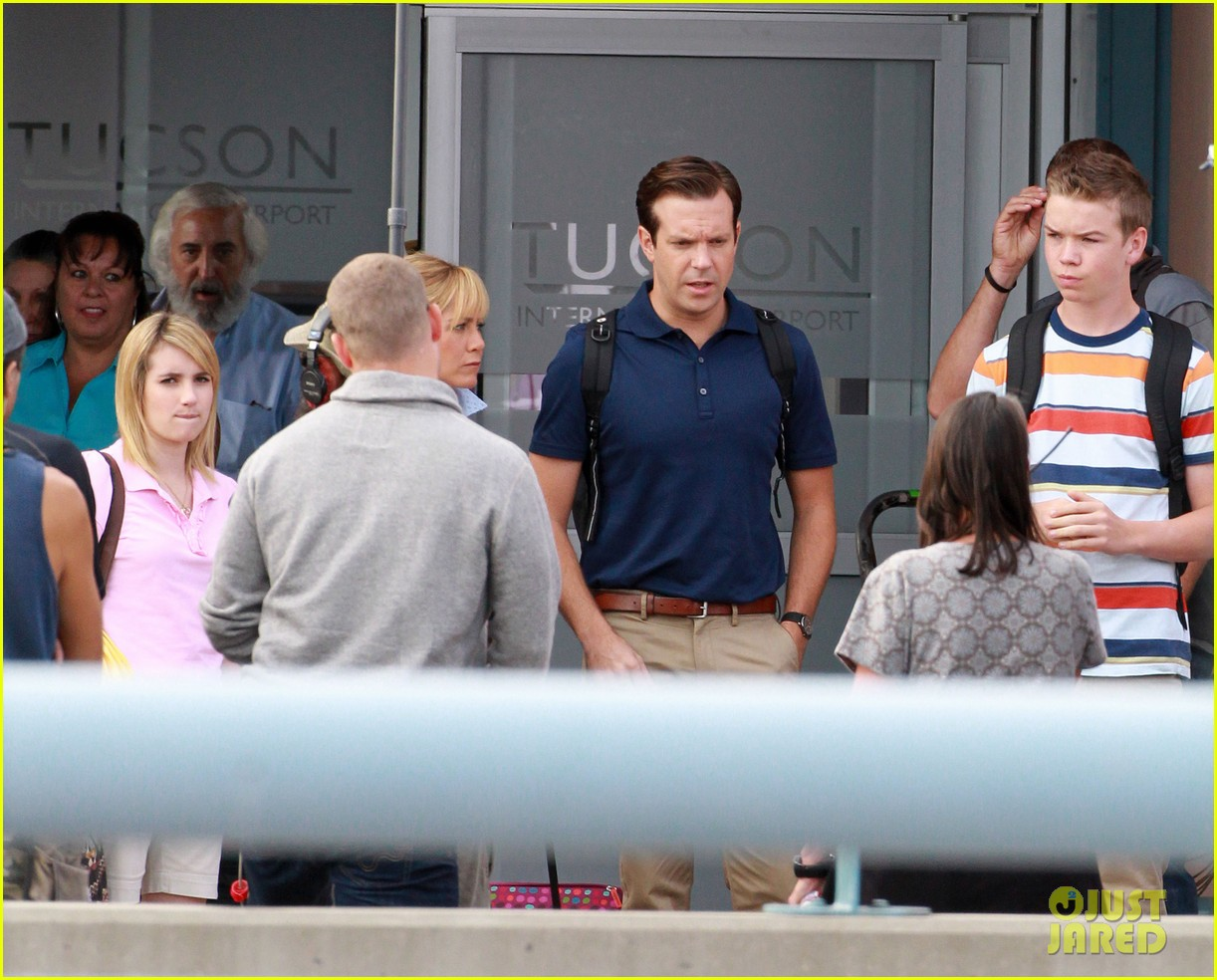 jennifer aniston emma roberts were the millers set 042729880