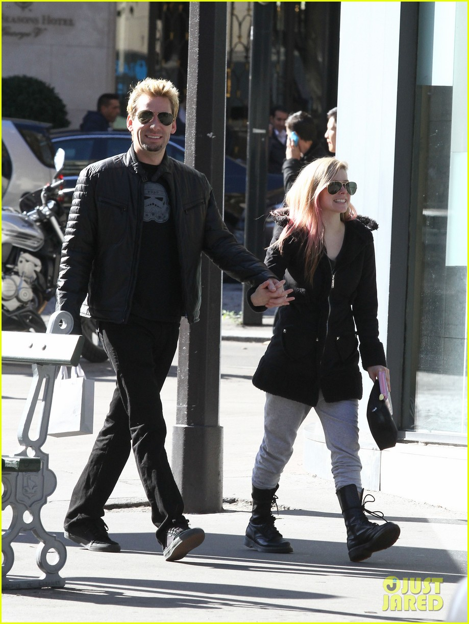 avril lavigne france chad kroeger 022730975