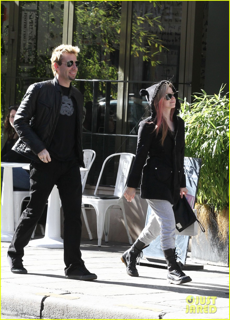 avril lavigne france chad kroeger 042730977