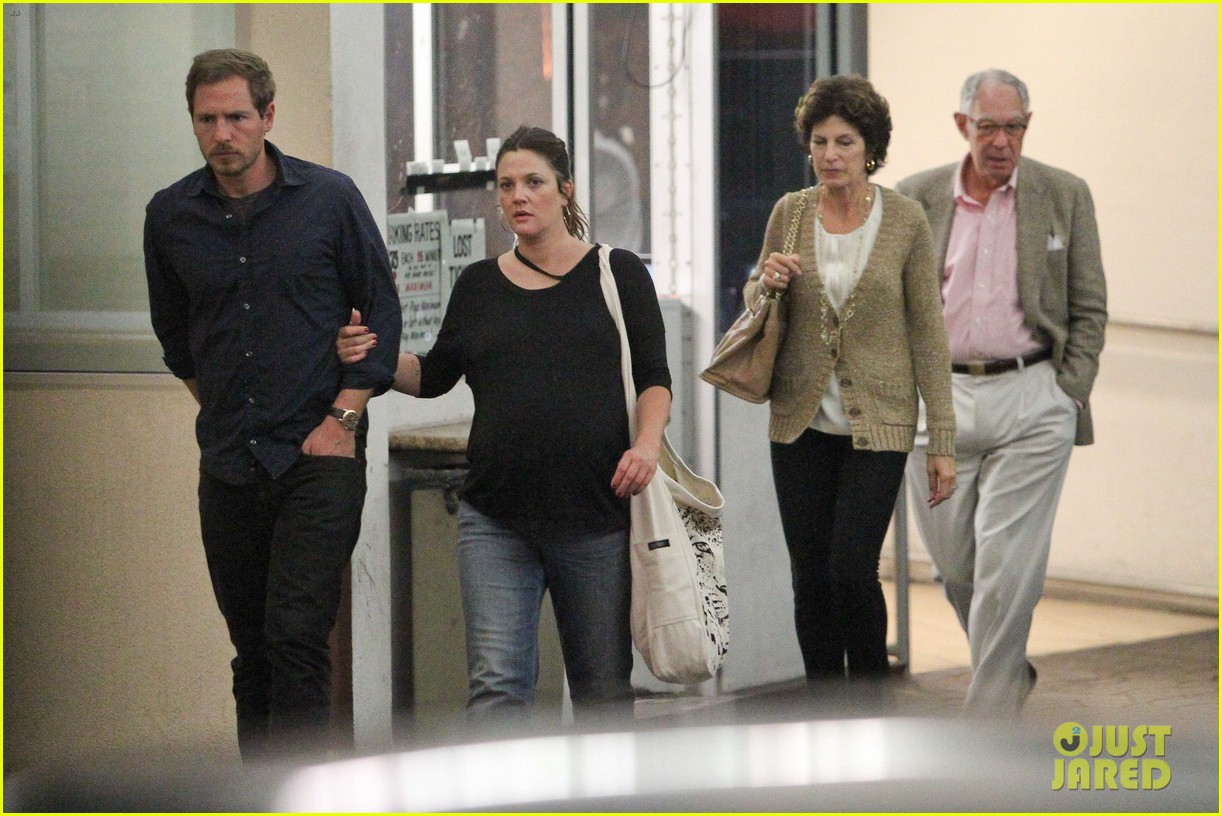 drew barrymore will kopelman dinner with parents 112726878