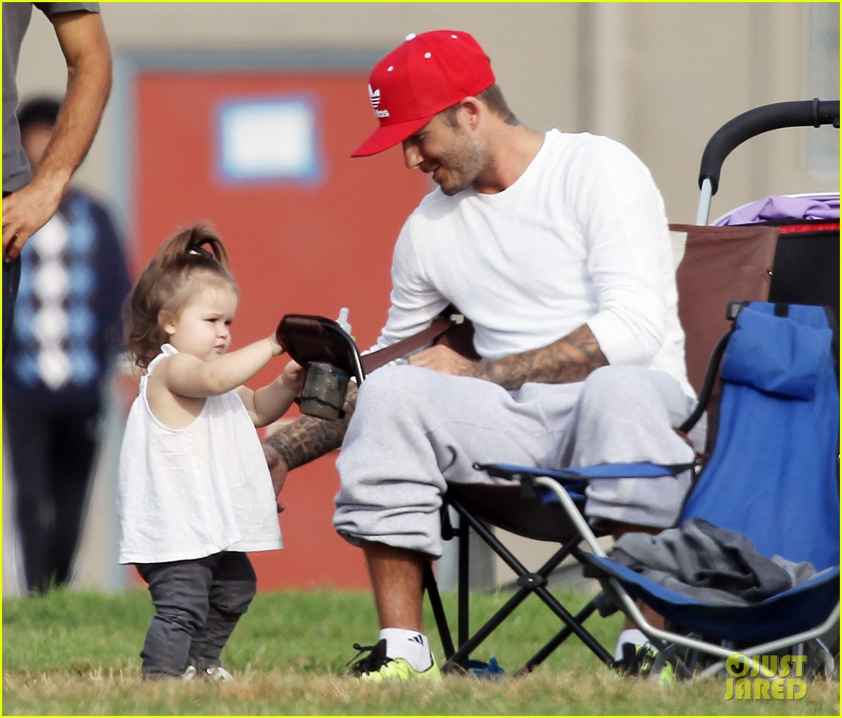 david beckham doting soccer dad 052727121