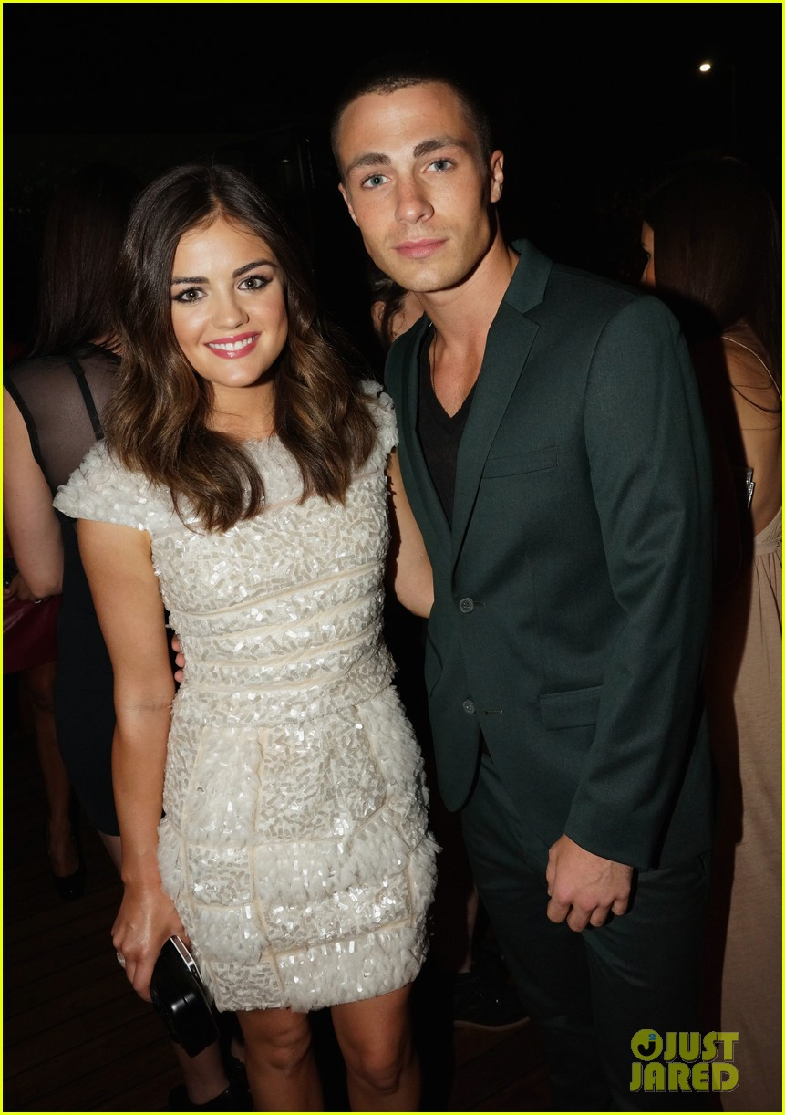 alexis bledel lucy hale nylon tv issue launch party 242722789