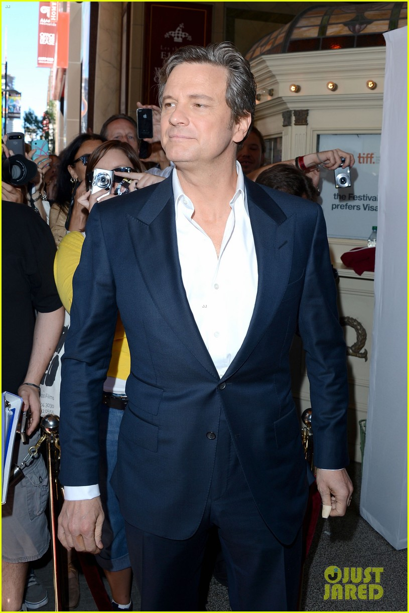 emily blunt arthur newman tiff premiere with colin firth 032718723