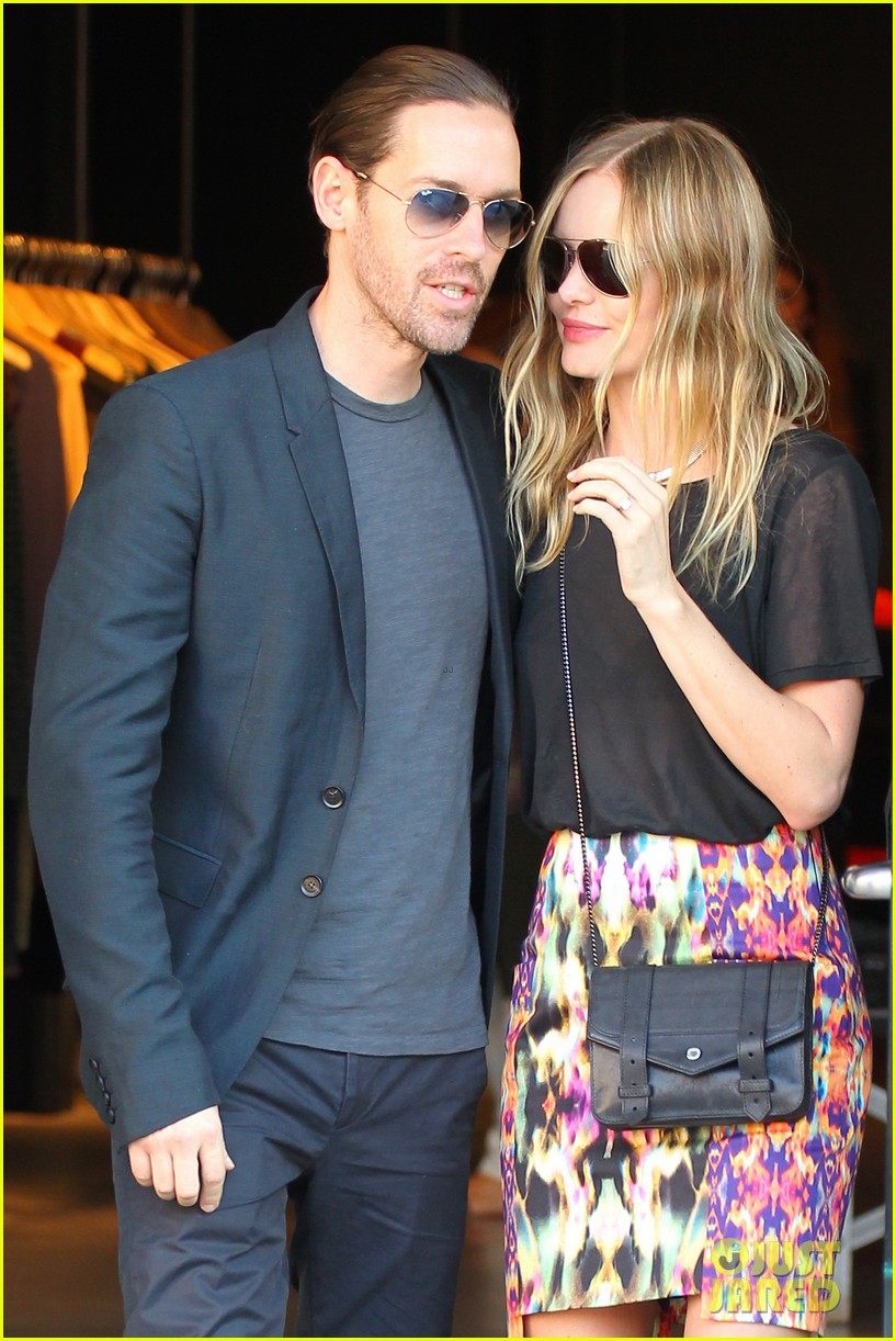 kate bosworth michael polish meatpacking district date 02