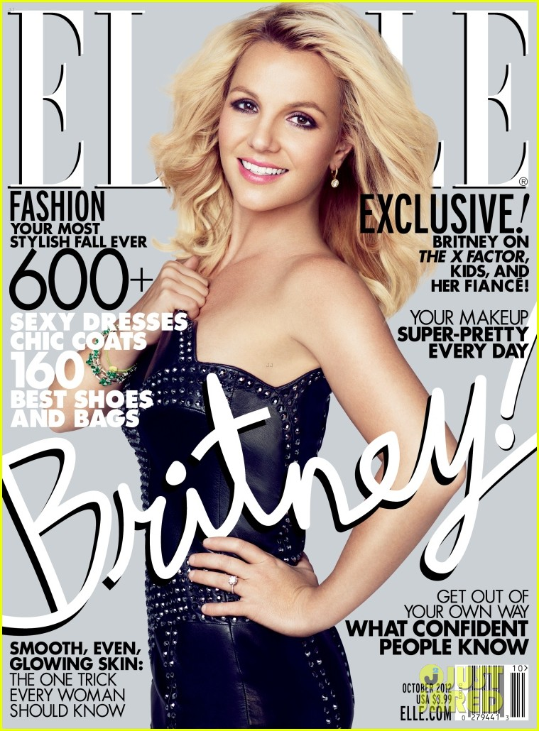 britney spears elle october 2012 012714580
