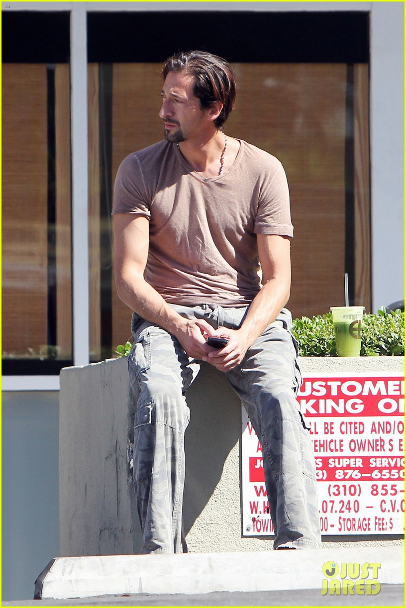 adrien brody down time after motor city shut down 022713855