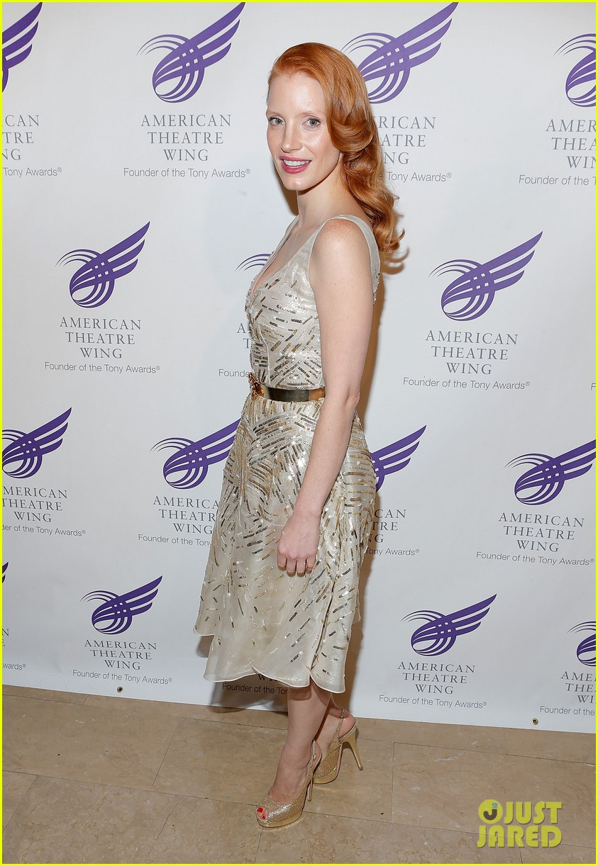 jessica chastain american theater wing gala 012727958