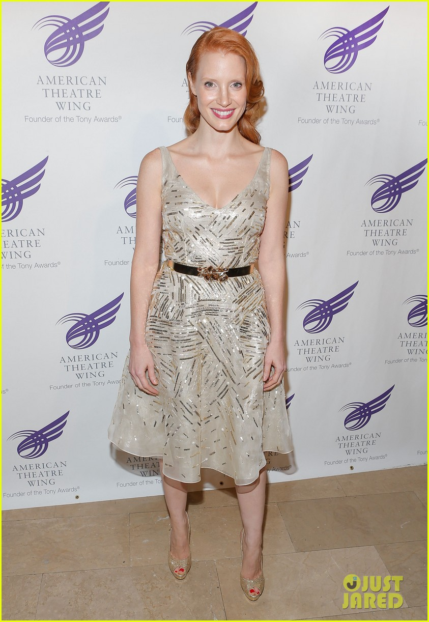 jessica chastain american theater wing gala 052727962