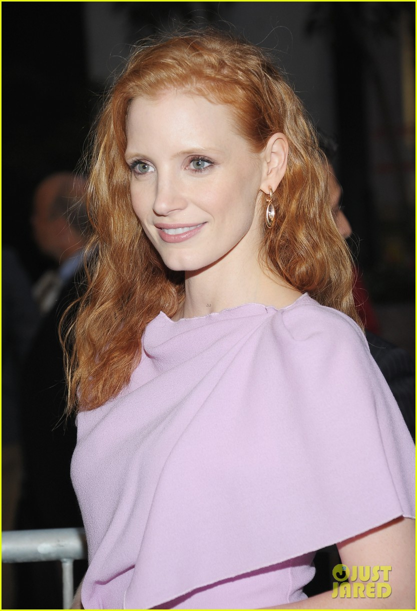 jessica chastain if there is i havent yet opening night 02