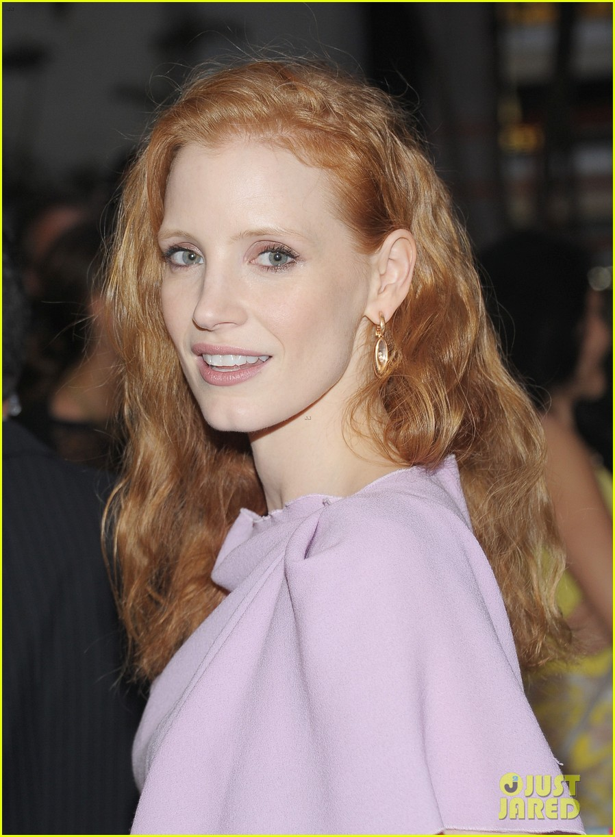 jessica chastain if there is i havent yet opening night 082725526