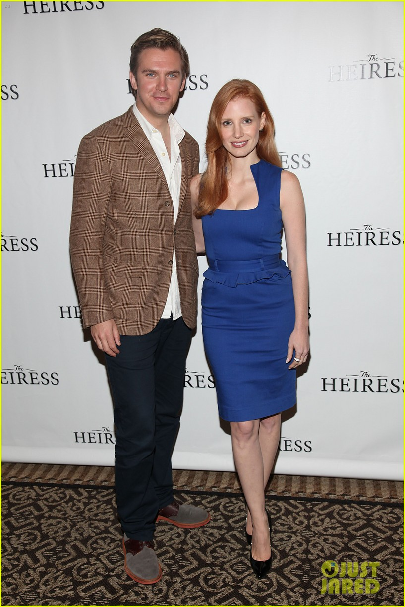 jessica chastain the heiress photo call 012721144