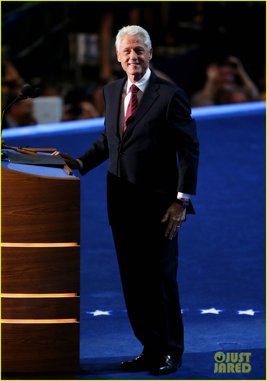 comments on bill clintons speech at democratic national convention essay Democratic presidential nominee hillary clinton closed out the final night of the 2016 democratic national convention in philadelphia.