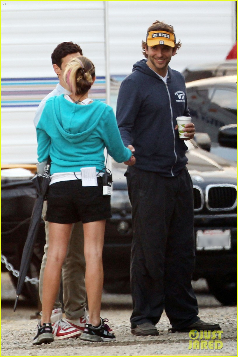 bradley cooper ponytail on hangover 3 set 082719432