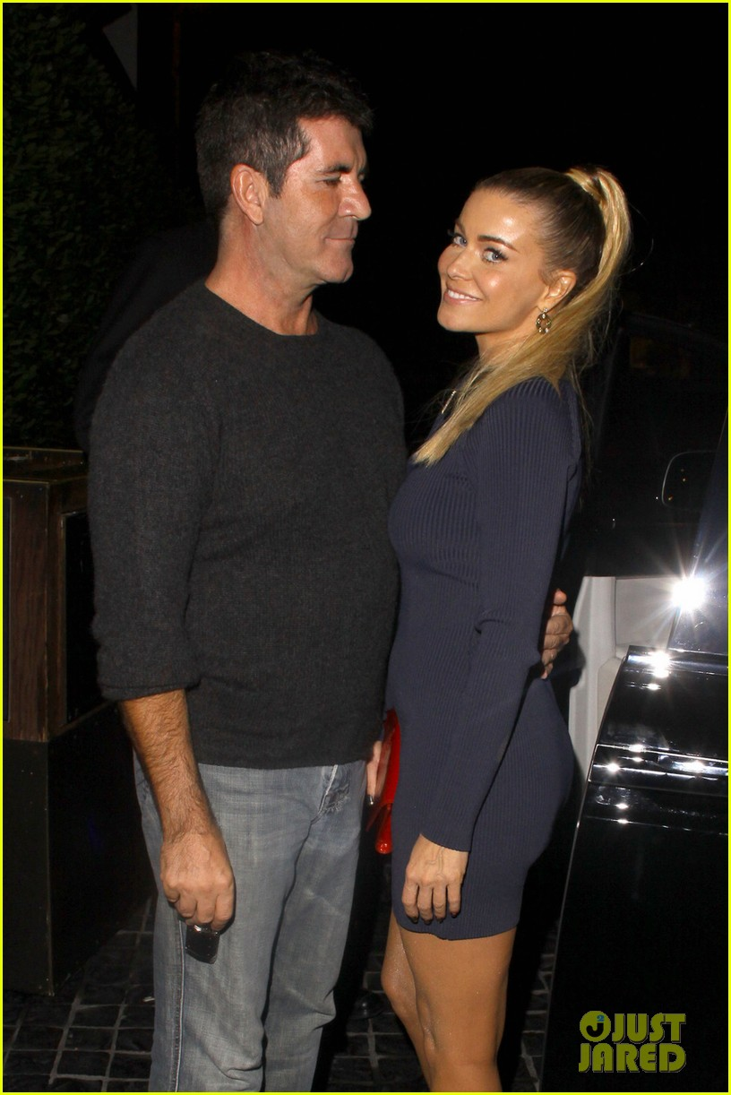 simon cowell dinner date with carmen electra 052727822