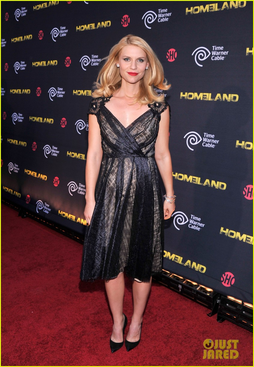 claire danes homeland premiere with damian lewis 012716812