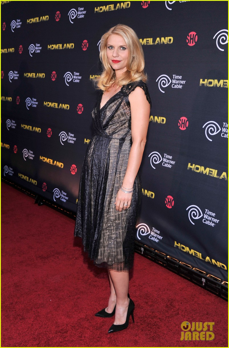 claire danes homeland premiere with damian lewis 082716819
