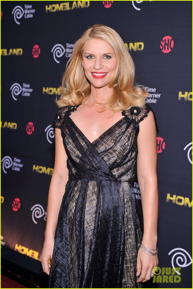 claire danes homeland premiere with damian lewis 092716820