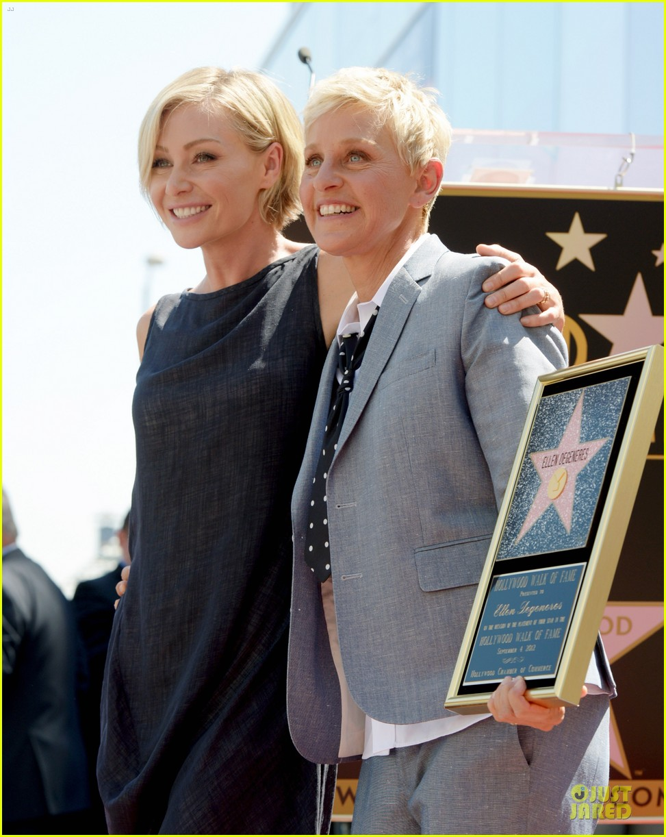 ellen degeneres star hollywood walk of fame 062714175