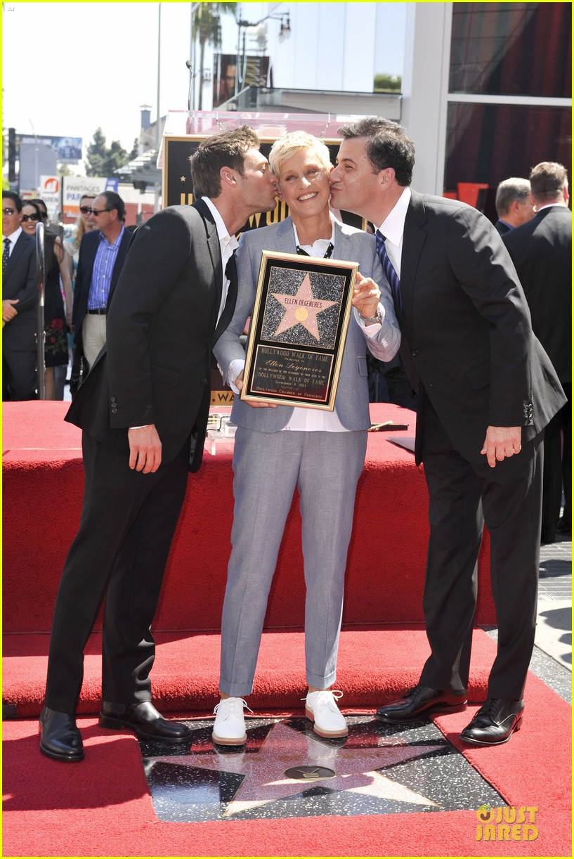 ellen degeneres star hollywood walk of fame 122714181