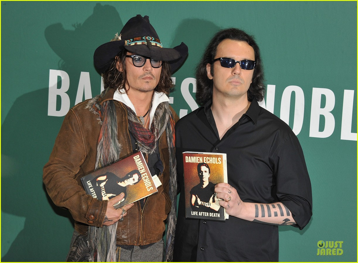 johnny depp damien echols book discussion 072725911