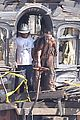 johnny depp armie hammer lone ranger set 02