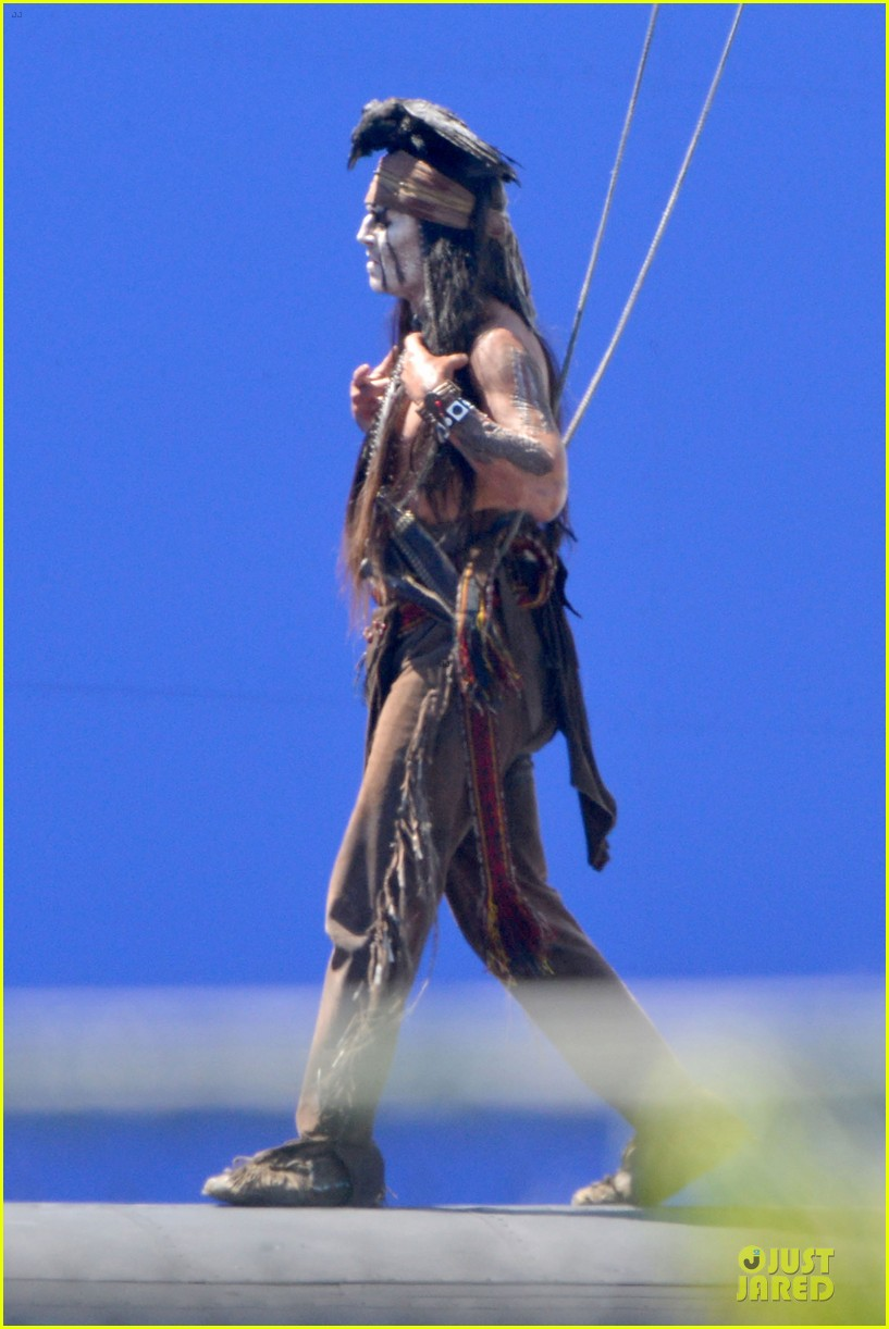 johnny depp lone ranger set 062724776