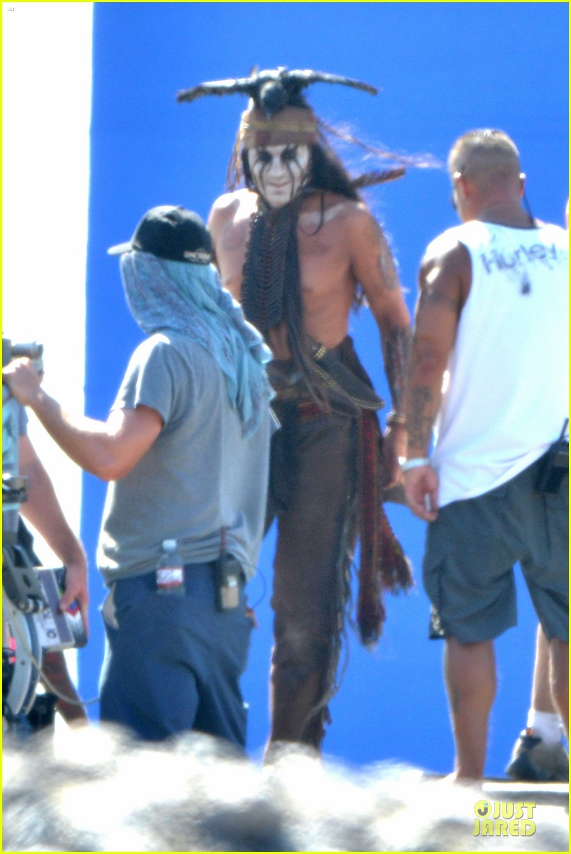johnny depp lone ranger set 082724778